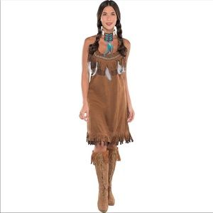 Adult Native American Dress Costume